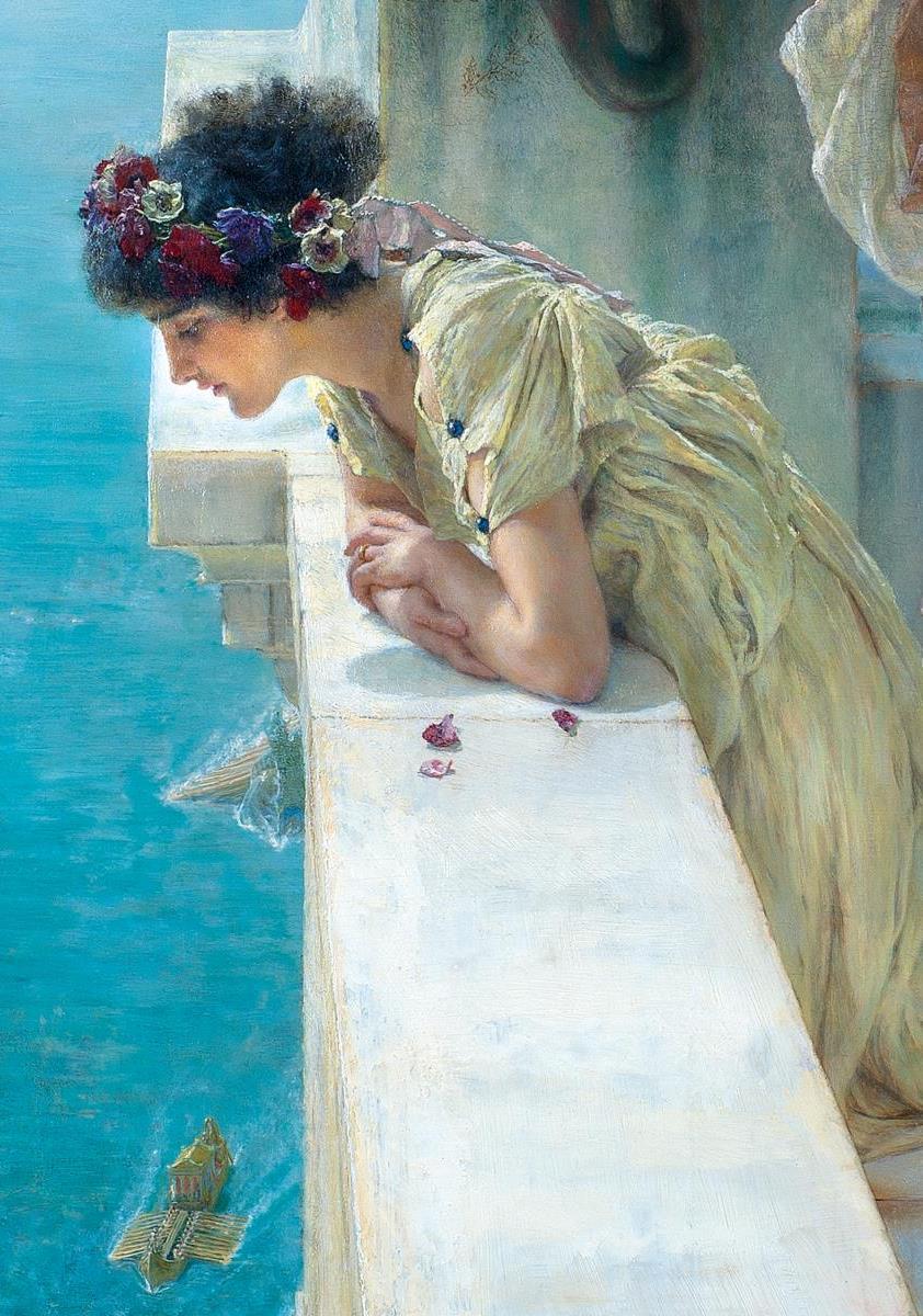 Alma Tadema- klassieke verleiding