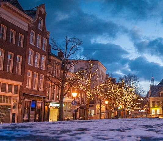 Winter in Leeuwarden