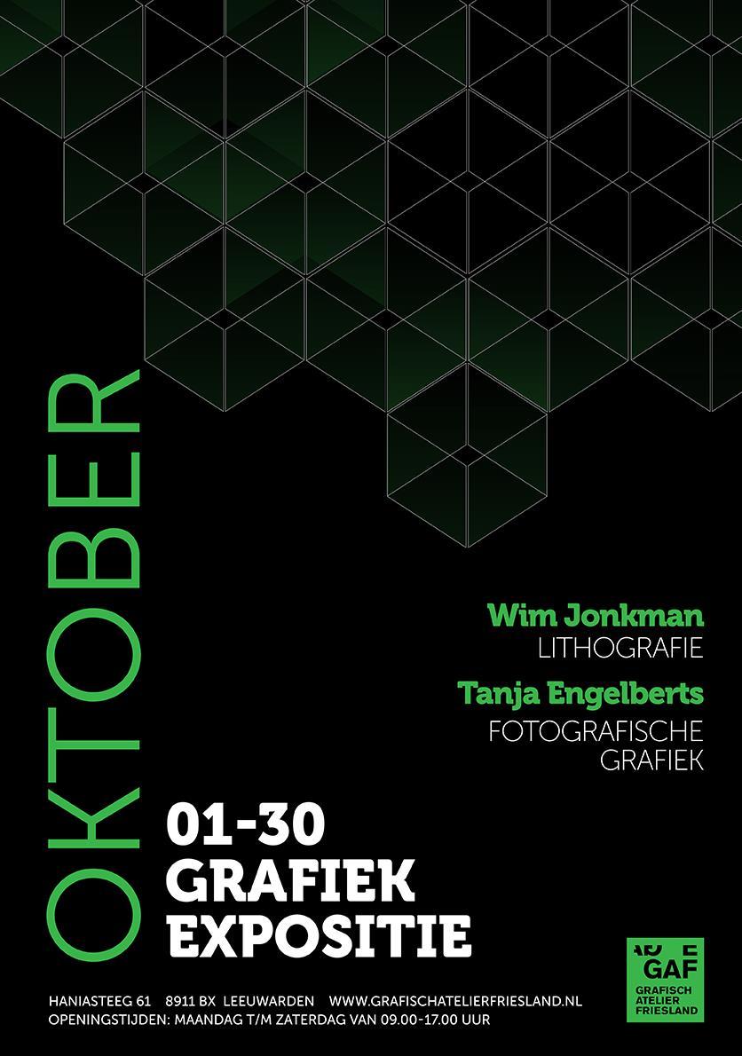 Grafiek Expositie Wim Jonkman & Tanja Engelberts