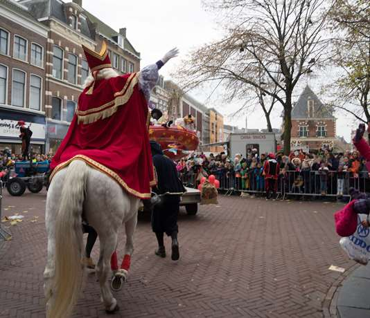 Welcoming 'Sinterklaas'