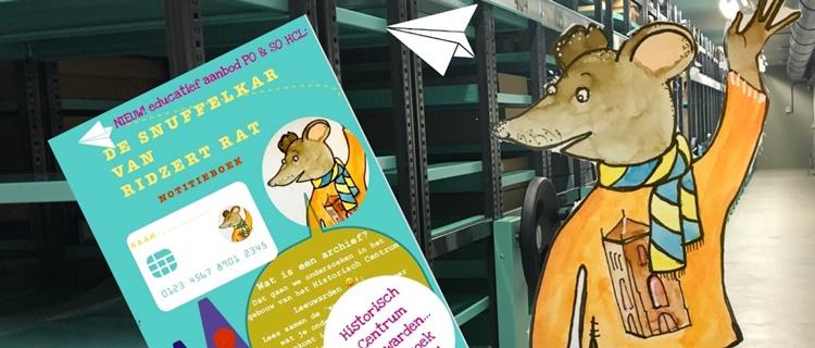 De snuffelkar van Ridzert Rat
