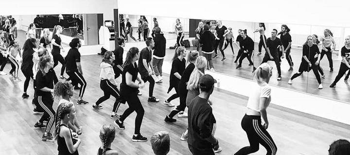 Dansactiviteiten op school